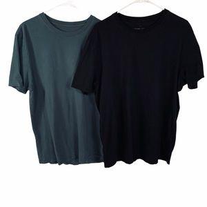 2 Everlane Organic Cotton Uniform Tees Size XL